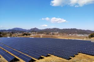 産業用太陽光パネル工事1